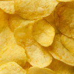 Batch fried chips